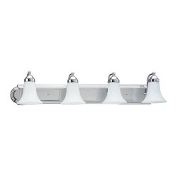 Sea Gull Lighting - Sea Gull Lighting Astoria Transitional Bathroom / Vanity Light X-50-0684 - A classic bath bar in one of today's most popular bath finishes - chrome. Available in 2, 3 and four light versions. Can be mounted up or down.