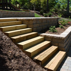 Contemporary Patio by TG&R Landscape Group