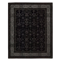 Nourison - NOUR-5264 Nourison Regal Area Rug Collection - This is Nourison's premier handmade wool collection and features intricately woven traditional patterns exquisitely hand carved with generous portions of silk. Elegant colors, classic designs, subtle tones and unbelievable texture define these magnificent rugs. The Regal collection sets a new standard in quality and beauty that rivals the world's finest heirloom rugs and is sure to be the centerpiece of any room.