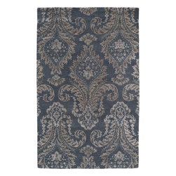 Kaleen - Kaleen Divine DIV06 (Grey) 8' x 11' Rug - This Hand Tufted rug would make a great addition to any room in the house. The plush feel and durability of this rug will make it a must for your home. Free Shipping - Quick Delivery - Satisfaction Guaranteed