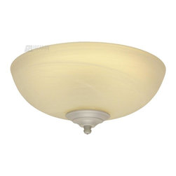 Craftmade - Craftmade Alabaster Glass Economy Bowl Light Kit - Energy Star X-GRN-41KL - Lots of light -- as much as 120 watts -- at a lower price that is not reflected in the quality of the glass.