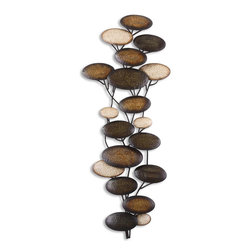 Uttermost 13461 Amanita Metal Wall Art - Uttermost 13461 Amanita Metal Wall Art*Collection: Amanita*Designed by Grace Feyock*Weight: 17