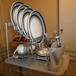 The multi level dish rack organizer -