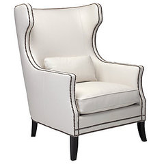 modern armchairs by Z Gallerie