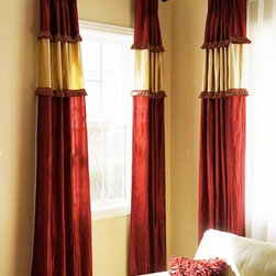 Custom Drapes - Custom Drapery we made based on Clients Specs / Design.