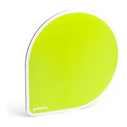 1st Pads - Mouse Pad, Lime Green - Provide a squeak-free experience for your mouse.Ships in: 1-2 business days