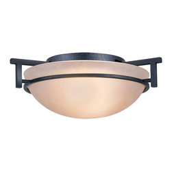 Golden Lighting - Golden Lighting 6262-FM DNI Hampden Transitional Flush Mount Ceiling Light - Golden Lighting 6262-FM DNI Hampden Transitional Flush Mount Ceiling Light