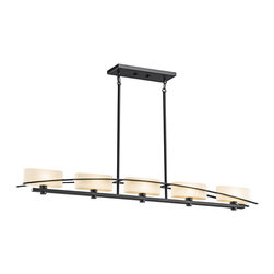 Kichler Lighting - Kichler Lighting 42018BK Suspension Painted Black Island Light - Kichler Lighting 42018BK Suspension Painted Black Island Light