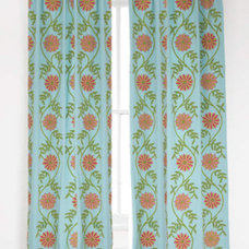 Contemporary Curtains by Pine Cone Hill
