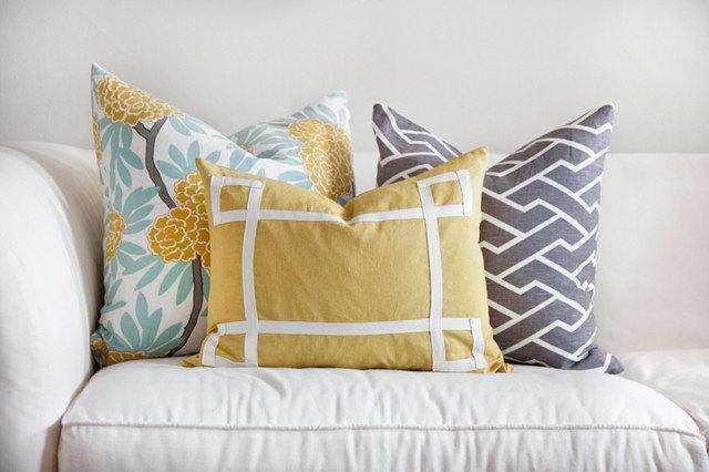 Contemporary Decorative Pillows by Caitlin Wilson Textiles