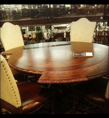 Traditional Dining Tables Comeaux inventory Pics