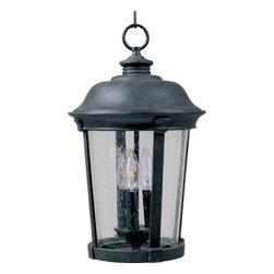 Maxim Lighting - Maxim Lighting 3028CDBZ Dover Cast 3-Light Outdoor Hanging Lantern In Bronze - Features