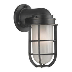 Hudson Valley Lighting - Hudson Valley Lighting 240-OB Carson 1 Light Wall Sconces in Old Bronze - I-1 Light Wall Sconce