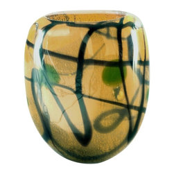 Dale Tiffany - New Dale Tiffany Vase Glass Hand-Blown San - Product Details