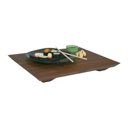 John Boos - Fusion Cutting Board w Feet - Includes board cream with beeswax. Non-reversible. Edge grain construction. Warranty: One year against manufacturing defects. Made from solid American walnut. Walnut finish. Made in USA. 20 in. L x 15 in. W x 1 in. H (7 lbs.)