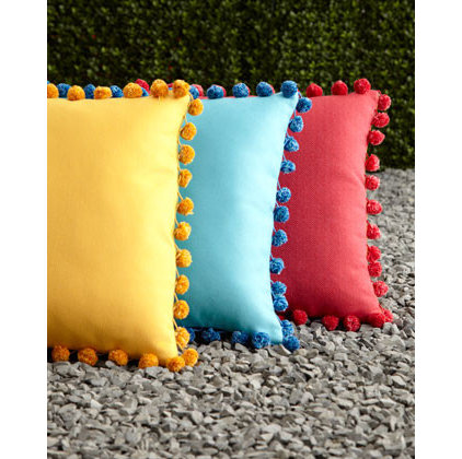 Modern Outdoor Pillows by Horchow