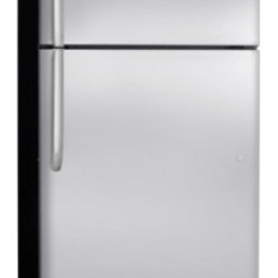 Frigidaire - FFHT1800PS Energy Star Rated 18.3 cu. ft. Top Freezer Refrigerator With Electron - The FFHT1800PS comes with electronic controls giving more precise temperatures for longer lasting food The Adaptive Defrost only defrosts when needed reducing power consumption and ultimately saving you money