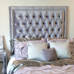 Upholstered Headboards - Client Photo