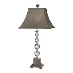 Dale Tiffany - New Dale Table Lamp Chrome Crystal Turn - Product Details