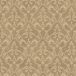 York Wallcoverings - GN2442 Wallpaper, Double Roll - Prepasted: Paste has already been applied to the back of the wallpaper and is activated with water.
