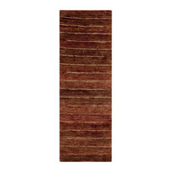"""Surya - Trinidad Hand Woven Runner Rug in Beige / Tan (2'6"""" x 8') - Add the cosiness and warmth in your interior with new stylish rug. This Hand Woven Runner Rug from Trinidad Collection is suitable for both indoor and outdoor space. Plush pile texture is very pleasant to touch. You can create warm color accents.    Features:"""