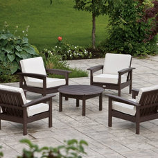 Contemporary Outdoor Lounge Sets by Hayneedle
