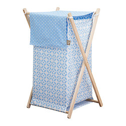 Trend Lab - Trend Lab Hamper Set -Logan - The Trend Lab Hamper Set - Logan is a decorative solution for quick clean up and measures 27 in x 15 in x 15 in. Machine washable inner mesh liner is removable making the transport of laundry effortless.