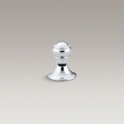 KOHLER - KOHLER Lift knob flush actuator for Portrait(R) and Revival(R) toilets - Offering a stylish alternative to traditional trip levers, this knob flush handle features an elegant grooved design. The handle is custom-made for Revival and Portrait toilets.