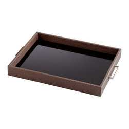 Cyan Design - Chelsea Tray - Small - Small chelsea tray - brown