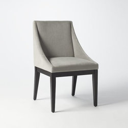 Curved Upholstered Chair, Dove Gray - If you host clients in your office, invest in chairs that are comfortable. I like the clean lines of this chair, which would look good positioned around a table for a meeting or lined up against a wall in the waiting room area.