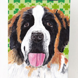 Caroline's Treasures - Saint Bernard Shamrock Portrait Michelob Ultra Koozies for slim cans - Saint Bernard St. Patrick's Day Shamrock Portrait Michelob Ultra Koozies for slim cans SC9302MUK Fits 12 oz. slim cans for Michelob Ultra, Starbucks Refreshers, Heineken Light, Bud Lite Lime 12 oz., Dry Soda, Coors, Resin, Vitaminwater Energy, and Perrier Cans. Great collapsible koozie. Great to keep track of your beverage and add a bit of flair to a gathering. These are in full color artwork and washable in the washing machine. Design will not come off.