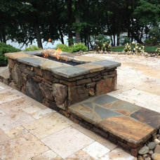 Rustic  by Charlotte Pools & Spa's Inc