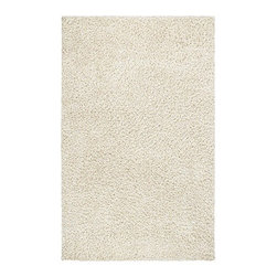 """nuLOOM - Shag White Rug - Features: -Construction: Handmade. -Technique: Tufted. -Material: 100% Acrylic. -Collection: Serano. Specifications: -Overall Dimensions: 72-120"""" Height x 48-96"""" Width"""