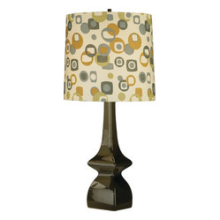 Jayne Table Lamp, Artichoke/Tobacco
