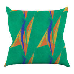 "Kess InHouse - Alison Coxon ""Deco Art"" Throw Pillow (26"" x 26"") - Rest among the art you love. Transform your hang out room into a hip gallery, that's also comfortable. With this pillow you can create an environment that reflects your unique style. It's amazing what a throw pillow can do to complete a room. (Kess InHouse is not responsible for pillow fighting that may occur as the result of creative stimulation)."