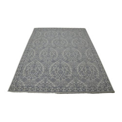 Transitional 9'x12' Hand Knotted Cotton Agra Mughal Empire Style Rug SH14019 - Our Modern & Contemporary Rug Collections are directly imported out of India & China.  The designs range from, solid, striped, geometric, modern, and abstract.  The color schemes range from very soft to very vibrant.