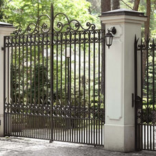 Traditional Home Fencing And Gates by ALMET Traditional Blacksmithing