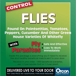 Orcon - Orcon Fly Parasite Eggs Multicolor - FP-C10K - Shop for Pest Control from Hayneedle.com! About Organic ControlFor 35 years Organic Control has been working as a friend of gardeners everywhere creating environmentally friendly methods of pest control. With a clear understanding of which bugs can help and which can hurt the growth of a producing plants Organic Control has expanded to product lines that repel not only insects but also mammals to help improve blooms and increase the yield on fruits nuts and vegetables. The award-winning team at Organic Control designs easy-to-use repellents that are long-lasting and effective.