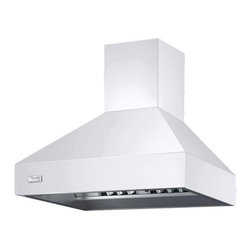 "Viking 30"" Wall Mount Chimney Range Hood, White 