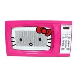Sakar International - Hello Kitty 0.7 Cubic Feet Microwave - Hello Kitty 0.7 Cubic Feet Microwave