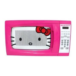 Sakar International - Hello Kitty .7 CU FT Microwave - HELLO KITTY 0.7 CU FT Microwave  This item cannot be shipped to APO/FPO addresses. Please accept our apologies.