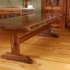 Rustic Dining Tables by Sandy Creek Woodworks