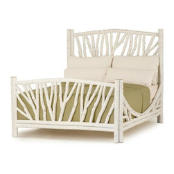 La Lune Collection - Rustic Bed #4304 by La Lune Collection - Rustic Bed #4304 in Antique White finish by La Lune Collection