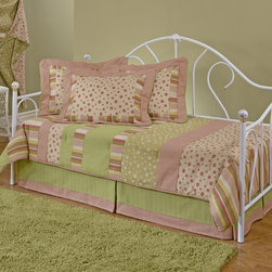 Hillsdale - Bristol Daybed - A classic style,this daybed features a traditionally designed silhouette that will remain in style for years to come. By adding the optional canopy,this bed becomes any little girl's dream bed,making her feel like a princess.