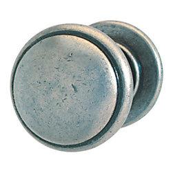 Hafele - Hafele 131.01.903 Pewter Cabinet Knobs - Hafele item number 131.01.903 is a beautifully finished Pewter Cabinet Knob.