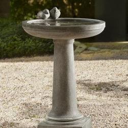 Campania - Juliet Birdbath -