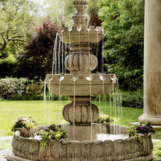 Traditional Outdoor Fountains And Ponds by Horchow