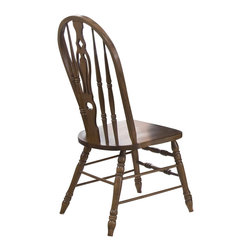 Liberty Furniture - Liberty Furniture Old World Traditional Windsor Side Chair in Oak (Set of 2) - This chair offers a stylish area for repose and relaxation. With a smooth combination of trendiness and utility, this chair makes an alluring inclusion. Unwind in the sensible fashions of this chair as it lends a beautiful aesthetic to your home. What's included: Side Chair (can only be purchased in sets of 2).