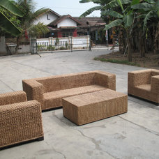 modern sofas by Rattan and Wood