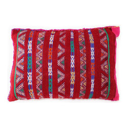 One-of-A-Kind Moroccan Pillow - You may not be able to afford new furniture, but you can always update your room with colorful, decorative accents like this unique Moroccan pillow. The pillows are hand crafted out of vintage Berber rugs and will enrich any room in need of a transformation.